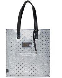 RED Valentino Transparent shopper bag - Nero