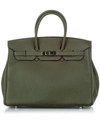 Hermès Birkin 35 Pelle Di Vitello - Verde