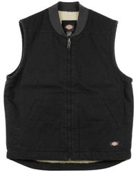 Dickies - Sherpa Lined Vest - Lyst