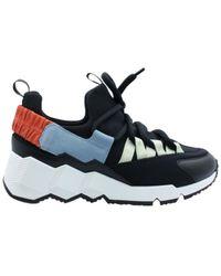 Pierre Hardy Runner Trek Comet Sneakers - Zwart