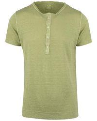 120% Lino T-shirt - Grün