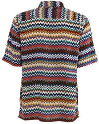 Missoni Shirt Short Sleeve Marrón