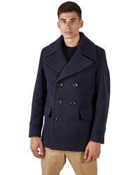 Burberry Westleigh Coat - Blauw
