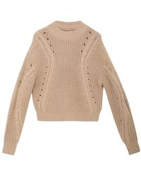 Another Label Pullover B75-520156 - Naturel