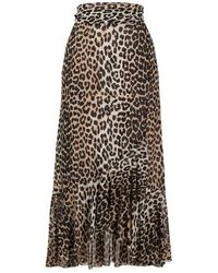 Ganni Skirt - Bruin