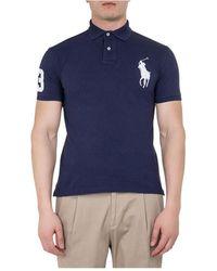 Timberland Polo Slim Fit - Bleu