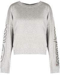 Champion Longsleeve Sweatshirt - Grijs