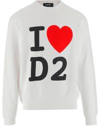 DSquared² Sweater - Wit