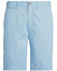 Polo Ralph Lauren Cotton Bermuda Shorts - Blauw