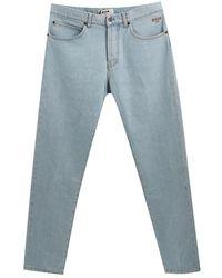 MSGM Multi Patch Jeans - Blauw