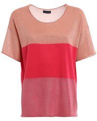 Paolo Fiorillo Capri Knitted Top - Roze