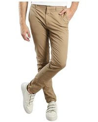 Norse Projects Aros Slim Stretch Chinos - Neutre