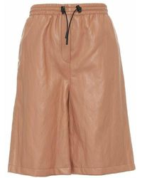 Erika Cavallini Semi Couture Shorts p1wi06 12 - Marron