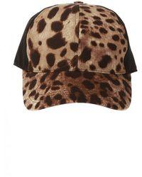 Dolce & Gabbana Printed Baseball Cap - Bruin