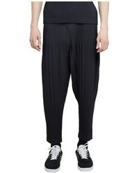 Issey Miyake - Homme Plisse Trousers - Lyst