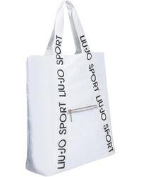 Liu Jo Shopping Bag H Logo - Wit