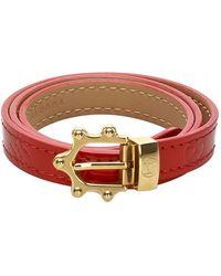 Louis Vuitton Bracciale Vernis - Rosso