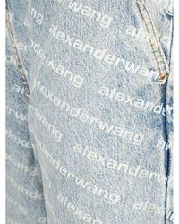 Alexander Wang Jeans 4Dc3214996D Blanco - Azul