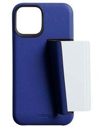 Bellroy Carcasa Iphone 12 Y 12pro 3 Tarjetas - Blauw