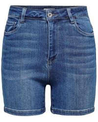 ONLY Mila Shorts - Blauw