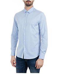 Replay Shirt - Blauw