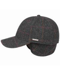 Stetson Baseball CAP - Gris