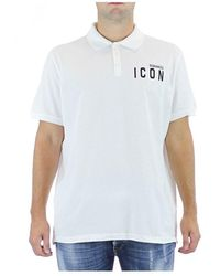 DSquared² Polo Icon - Wit