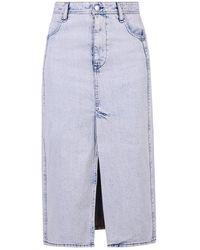IRO Midi Skirt - Blauw