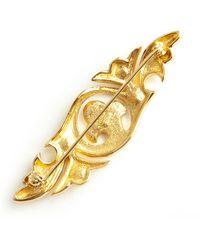 Dior Spilla color oro usata - Giallo
