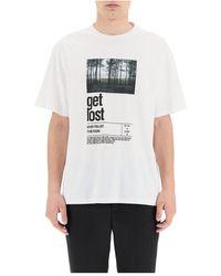 Neil Barrett - Print t-shirt - Lyst