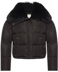 Yves Salomon Army Jacket - Zwart