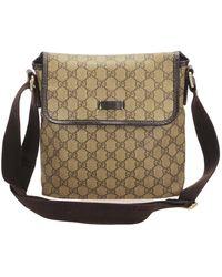 Gucci Supreme Crossbody Bag - Bruin