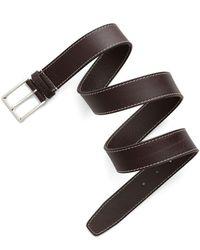GANT - D1. Contrast Stitch Belt - Lyst