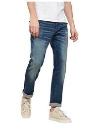 G-Star RAW Rechte Jeans 51002 A088 - 3301 - Blauw