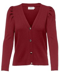 ONLY Cardigan - Rot