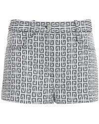 Givenchy Shorts With Logo - Grijs