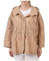 iBlues Barbano coat Beige - Neutro