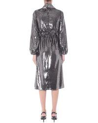 N°21 V-Neck Dress Gris