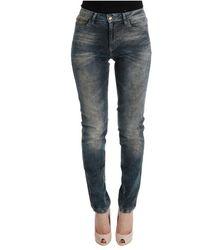Roberto Cavalli Slim fit jeans - Bleu