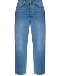 Rag & Bone Distressed Jeans - Blauw