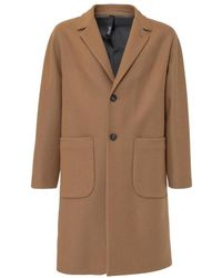 Hevò Coat With Pockets - Bruin
