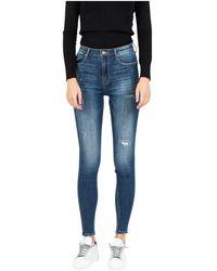 Met Cara Denim Jeans - Blauw