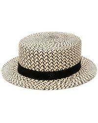Maison Michel Hats - Naturel