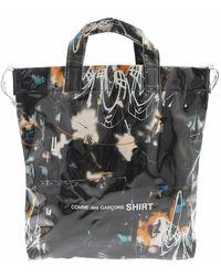 Comme des Garçons Shopping + Futura 2000 Bag - Zwart