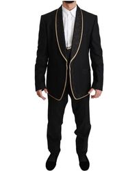 Dolce & Gabbana 3 Stuk Sicilia Suit - Zwart