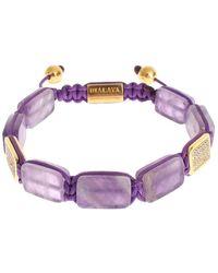 Nialaya 925 Bracelet - Paars
