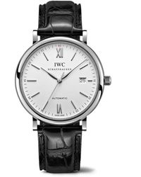 IWC Schaffhausen Portofino Automatic Watch - Weiß