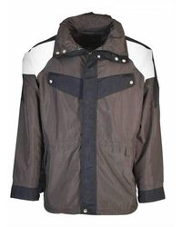 Givenchy Lining Tricolor Parka - Bruin