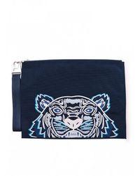 KENZO Tiger Pouch - Blauw