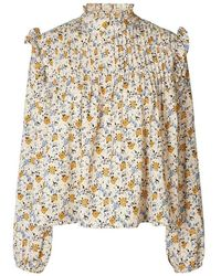 Lolly's Laundry Kalle Shirt Beige - Neutro